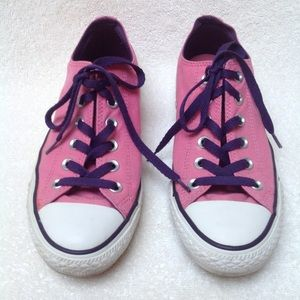 Converse | Pink Double Tongue Sneakers